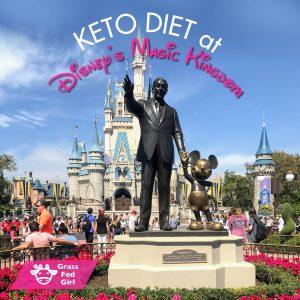 Keto and Low Carb at Disney's Magic Kingdom Orlando