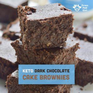 Best Keto Cake Brownies