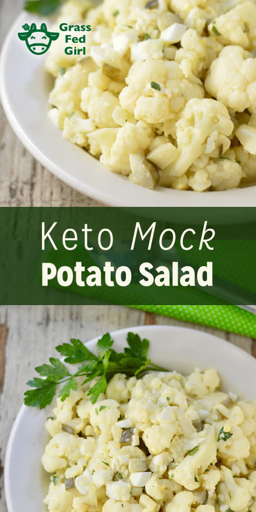 Keto Mock Potato Salad