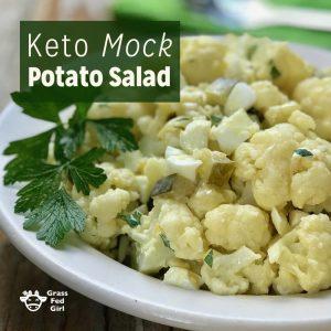 Keto Mock Potato Salad