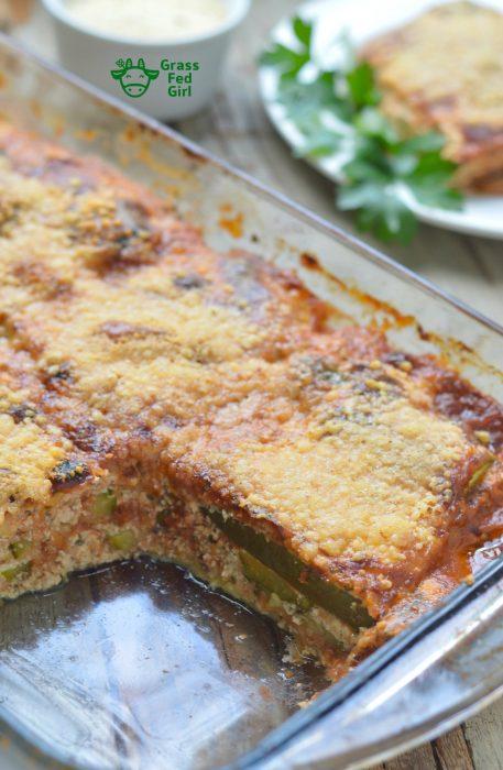 Easy Keto Vegetarian Lasagna