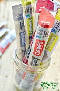 Chomps Keto Snack Sticks Review and Giveaway
