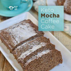 Best Keto Mocha Coffee Cake Recipe