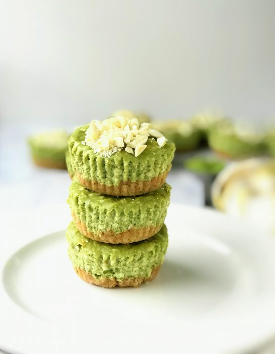 Keto Matcha Cheesecake Recipe