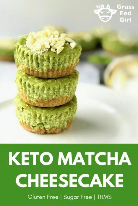Keto Matcha Cheesecake Recipe