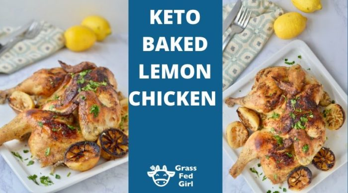 Keto Baked Lemon Chicken