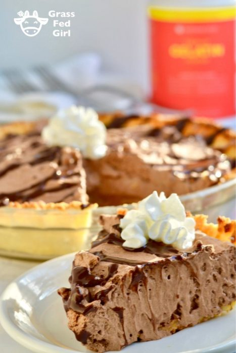 keto chocolate silk pie recipe