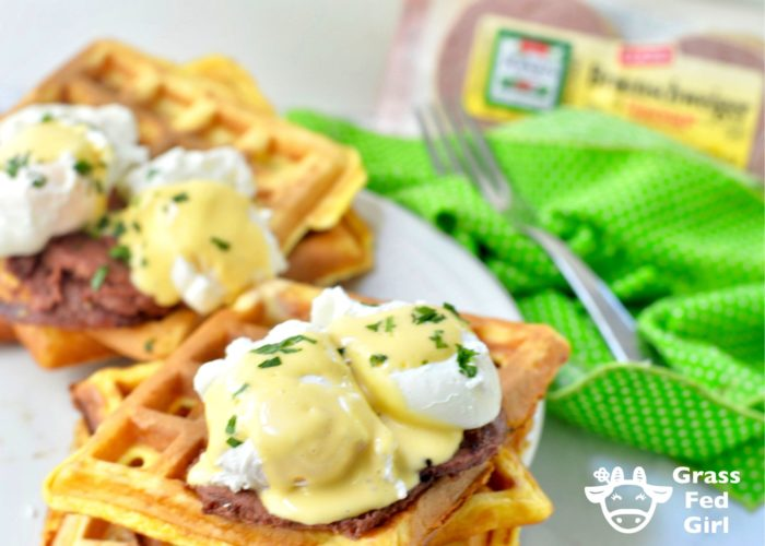 Keto Carnivore Diet Chaffle Benedict Recipe