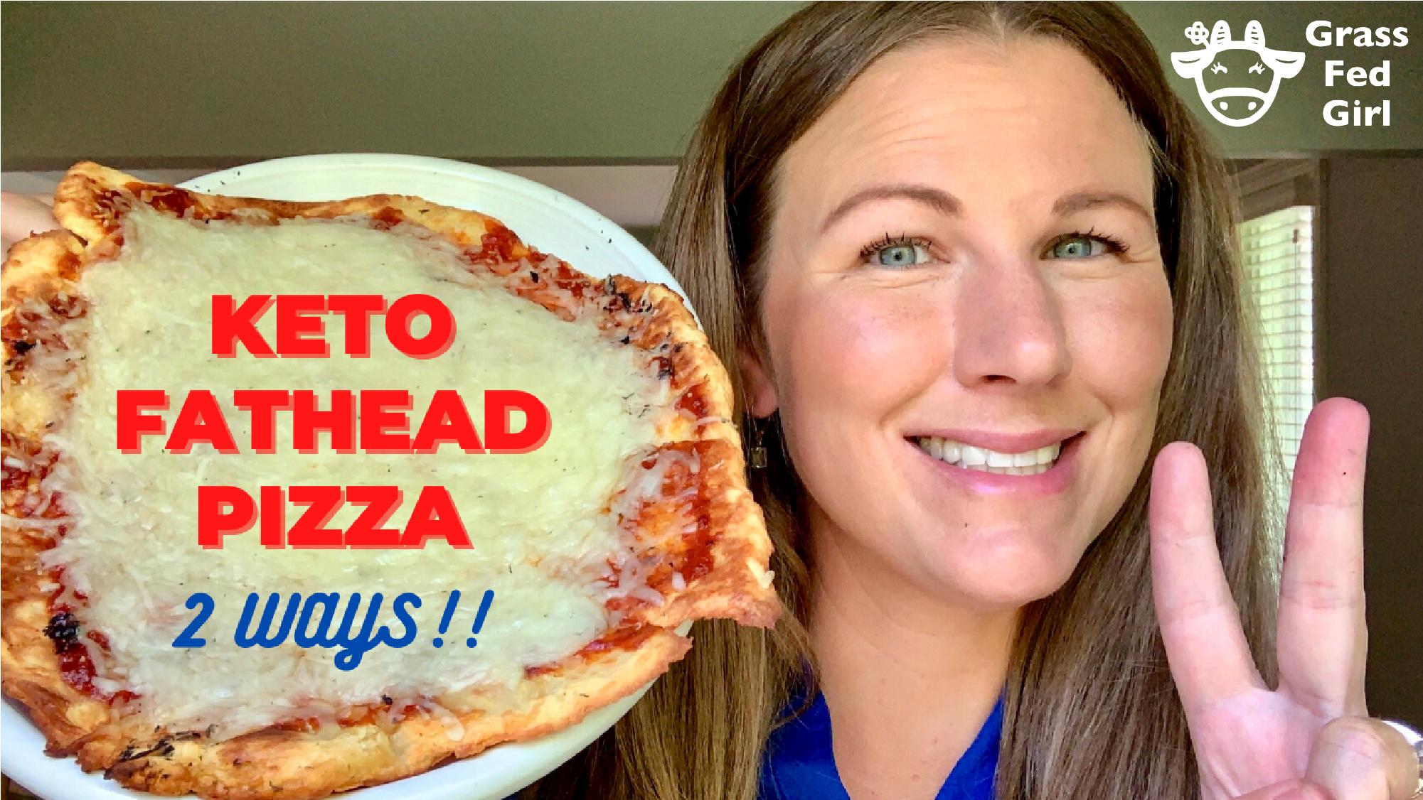 Keto Fathead Pizza Dough Recipe